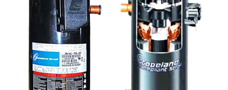 спиральный компрессор copeland