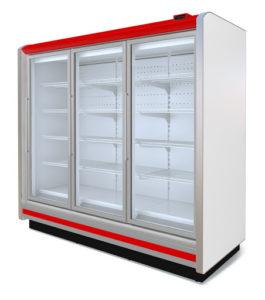 холодильные витрины горки пристенные